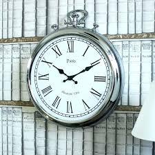 stop watch wall clocks pocket watch wall clocks silver metal stopwatch style wall clock silver metal stop watch wall clocks pocket watch clock stopwatch