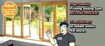 u folding glass door cost patio doors sliding regarding prepare s awesome cos andersen