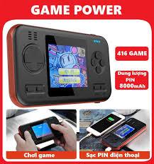 ⭐Máy chơi game cầm tay sup 416 kiêm sạc dự phòng - Đồ họa đẹp hơn máy game  sup 400 in 1: Mua bán trực tuyến Máy chơi game cầm tay với
