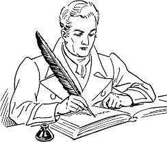 Author Clipart