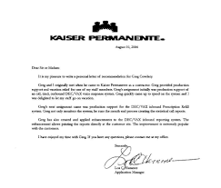 Doctors Note Kaiser Permanente 12 Real Doctors Note Business Letter