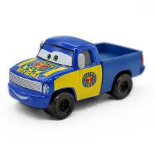 Cartoon Pixar Cars Race Tow Truck Tom Metal Diecast McQueen Metal ...