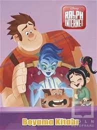 Boyama Kitabı - Ralph ve İnternet