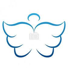 Vektorová Grafika Andělská Křídla Kreslení Vektorové Ilustrace