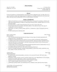Training Specialist Resume Trainer Resume Samples Free Sample Resumes