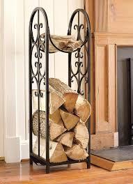 fireplace wood racks furnish burnish