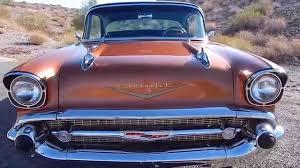 1957 Chevy 4dr Hardtop Sedan Resto Mod - YouTube