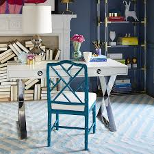 gallery home office desk. View In Gallery Home Office Desk From Jonathan Adler With Hollywood Regency Style 6