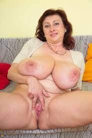 Mature Huge Natural Tits Solo