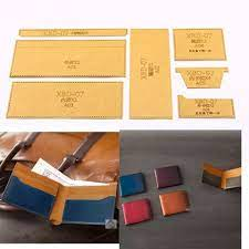 diy leather craft card