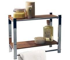 bathroom wall storage shelf towel rail