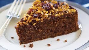 Flourless Chocolate Almond Cake with Almond Cherry Caramel Glaze