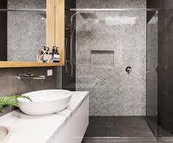 bathroom tile trends. Must-Have Herringbone Bathroom Tile Trends