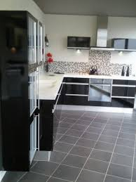 black kitchen cabinets with white marble countertops. 78 Great Compulsory Chic L Shape Black Kitchen Gloss Cabinets White Marble Countertops Colors Mosaic Pattern Ceramics Backsplashes Double Bowl Sink Built In With