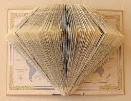 thanks to budget living i ve made quite a few book folds for myself they decorate a wall in my home pictured below for the original bl instructions