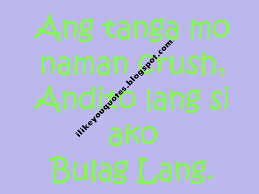 Latest Sweet Crush Quotes Tagalog Love Quote