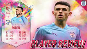 UPGRADED 95 SUMMER HEAT FODEN PLAYER REVIEW! SBC PLAYER - FIFA 20 ULTIMATE  TEAM - YouTube