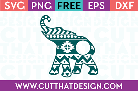 Use it for multiple projects design will be received in a zip file containing a svg, png, dxf, pdf and jpg file. Free Svg Files Elephant Archives Cut That Design