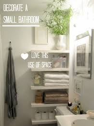 decorating a very small bathroom