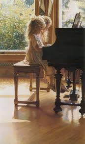 lessons with my sister art artistic painting piano
