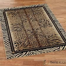 festival jungle animal print area rugs festival jungle rectangle rug