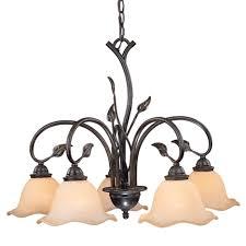 vine downlight chandelier 5 light