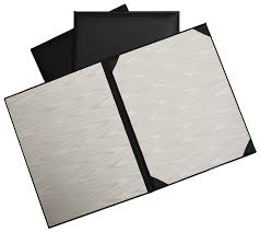 bonded leather landscape panoramic style diploma cover for a single 8 1 2 x 11 doent item sdc487 0 this premium bonded leather certificate holder