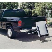 Industrial Pickup Truck Liftgate - Lift Gate - 500 lbs Cap - 12V DC ...