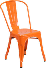 perfect orange patio chairs with orange metal indoor outdoor stackable chair ch 31230 or gg