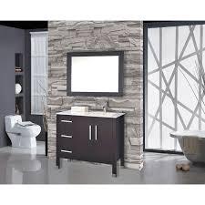 bathroom features gray shaker vanity: mtd vanities monaco ampquot single sink bathroom vanity set with mirror