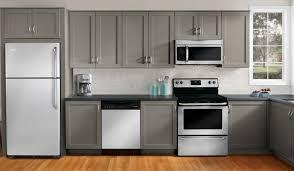 Painting Kitchen Cabinets Gray Cabinet Backsplash
