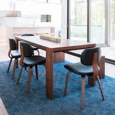 modern dining table with bench. Plank Table \u0026 Bench | Walnut Modern Dining With S