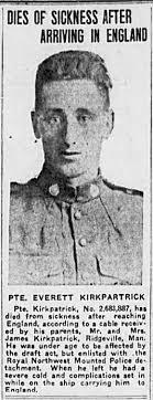 Everett Kirkpatrick - The Canadian Virtual War Memorial - Veterans ...