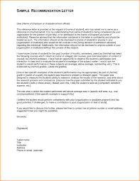 Letter Of Recommendation From Employer To College Sample Recommendation Letter For Scholarship From Professor College