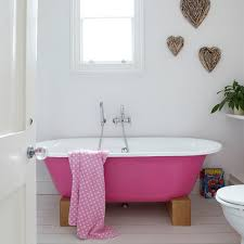are you tired of looking at your traditional white bathroom suite well why not change the look of the whole room by painting your bath tub a vibrant colour