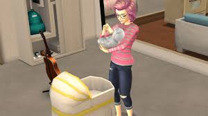 i ed the sims mobile to see if it would let me trap a virtual person in a bathroom less building now i m two working mothers raising a child