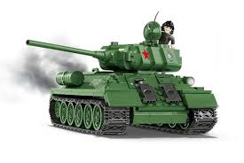 <b>Конструктор COBI</b> Танк T-34|85 WOT - COBI-3005A | детские ...