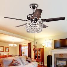 ceiling fan ceiling fan chandelier chandelier with ceiling fan attached design angel 3 light crystal