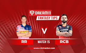 Rcb have won all their first three games of this ipl 2021. Rcb Vs Rr Prediction Dream11 Fantasy Cricket Tips Playing Xi Pitch Report Injury Update Ipl 2020 Match 15