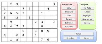 Sudoku Puzzel Solver Sudoku Puzzle Creator And Solver Excel Macros