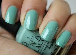 Nail Polish Colors Opi Turquoise Seafoam Green Jade Shade