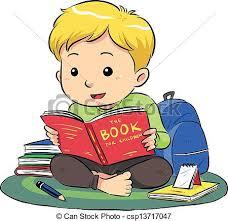 reading a book csp13717047