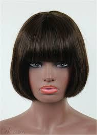 トップ品質ミディアム ストレート最新有名人髪型人間人人毛 100 8