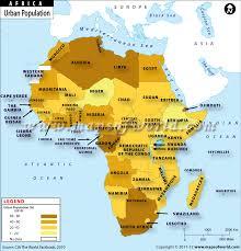 Population Map Africa Jackenjuul