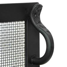 iron fireplace screens. Steel Fireplace Screen Has Corners That Are Tightly Mitered And Expertly Welded Iron Screens