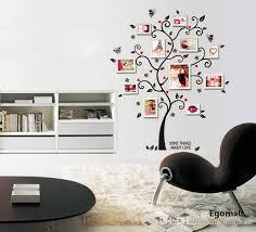 tree photo frame diy 3d vinyl wall stickers home decor design living room sofa vintage poster wall art decals home decoration frame decoration frame frame
