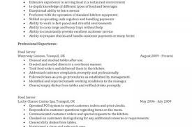 related post of resume for food service food service cover letter