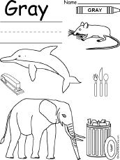 Gray Worksheet  Preschool  Crafts  Pinterest  Worksheets and Gray