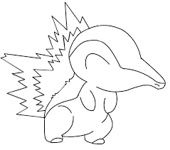 Small Picture Pokemon Coloring Pages Cyndaquil Car Tuning For Pokemon Coloring