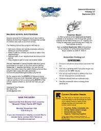 Pta September Newsletter